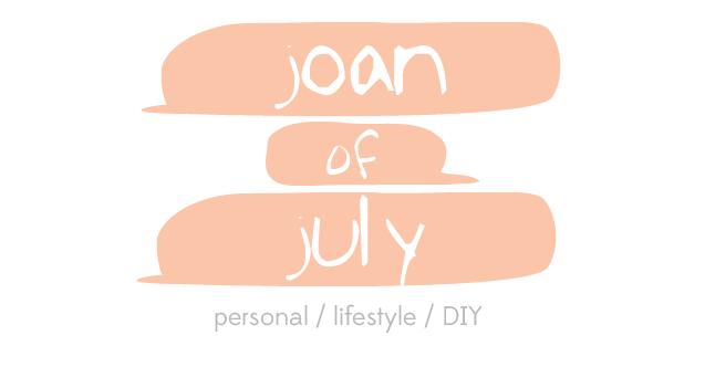 Joan of July banner