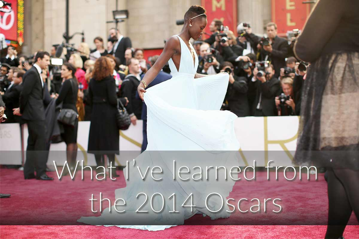 What I've learned from this year's Oscars