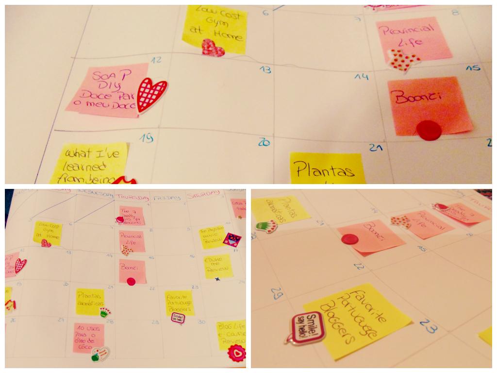 Blog Life - Blog Calendar