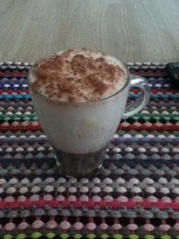 At least I know how to make cappuccino at home with perfect foam and everything!