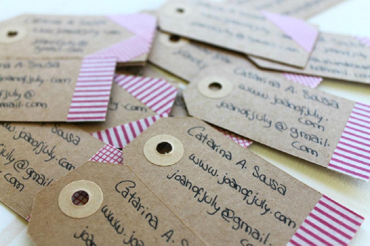 DIY Washi Tape Cards