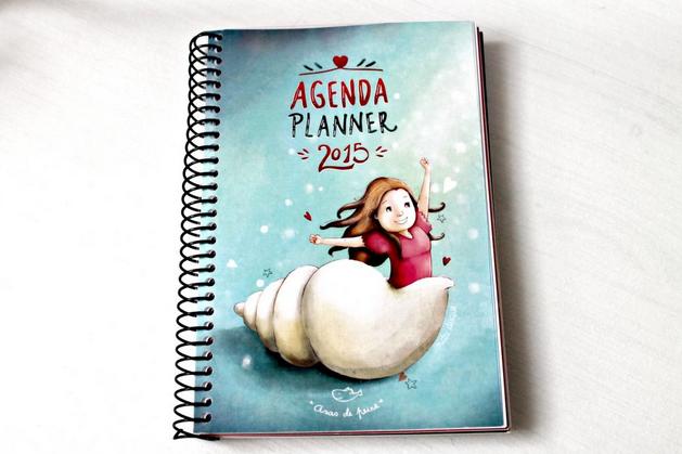 Agenda Planner 2015 by Asas de Peixe