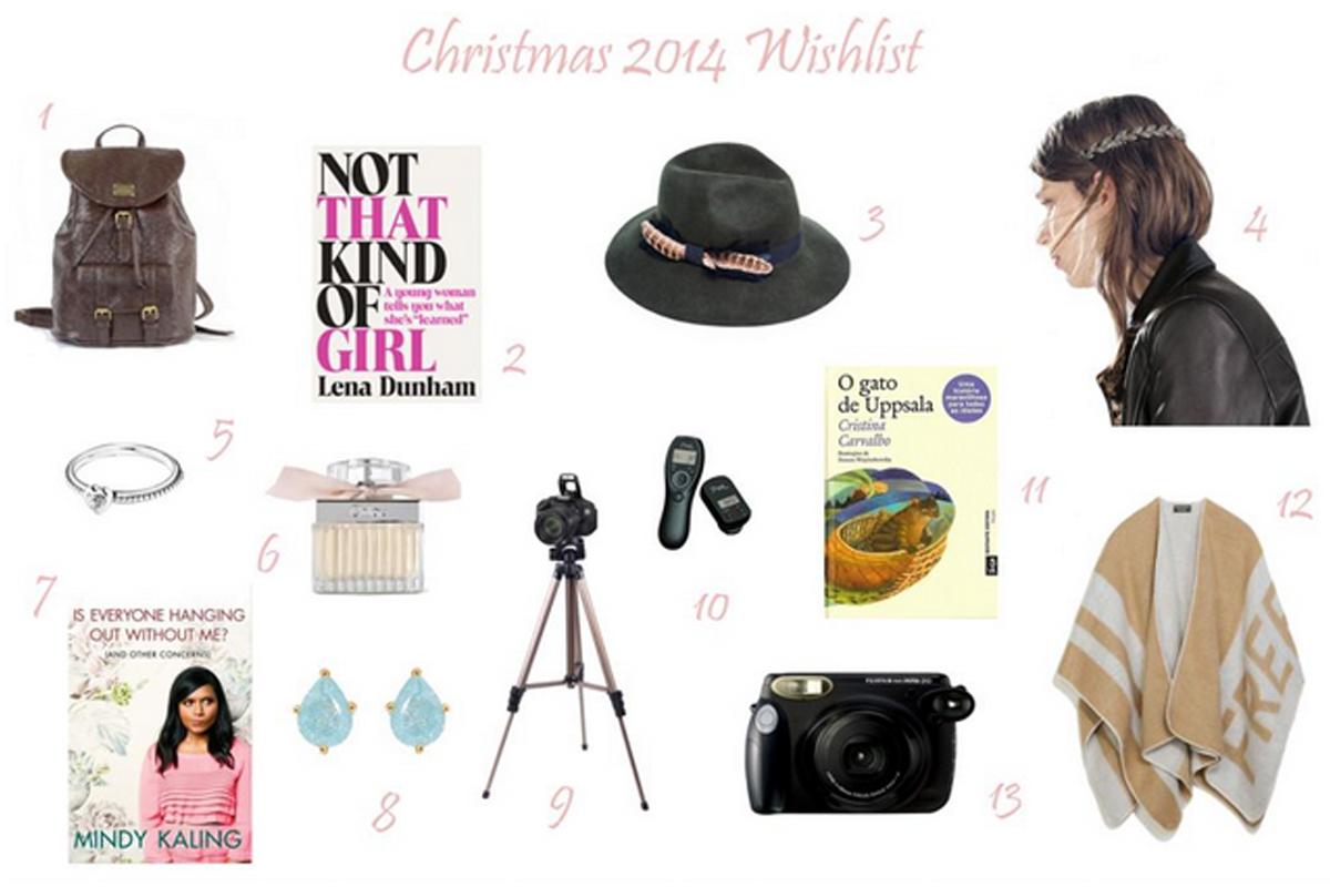 Christmas 2014 Wishlist