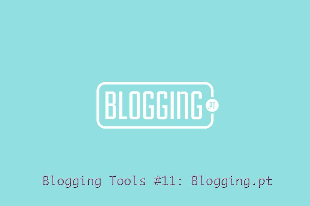 Blogging Tools #11: Blogging.pt