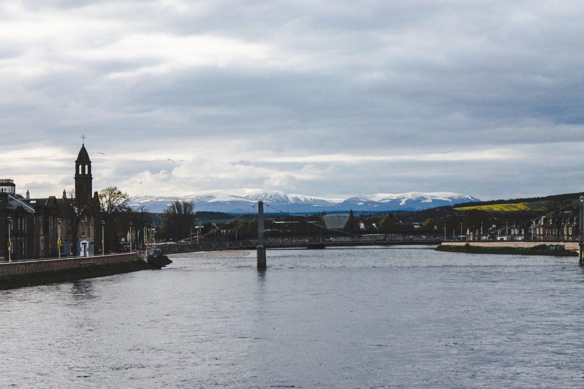 Chegada a Inverness, a capital das Terras Altas da Escócia