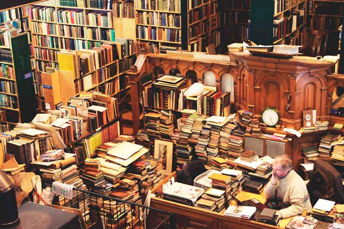 Leakey's: uma encantadora livraria de segunda mão em Inverness