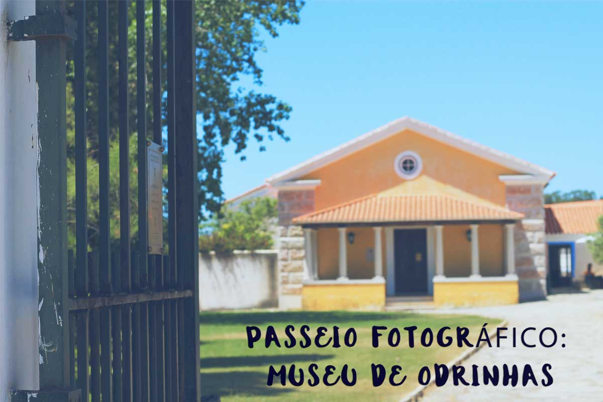 Passeio fotográfico pelo Museu de Odrinhas