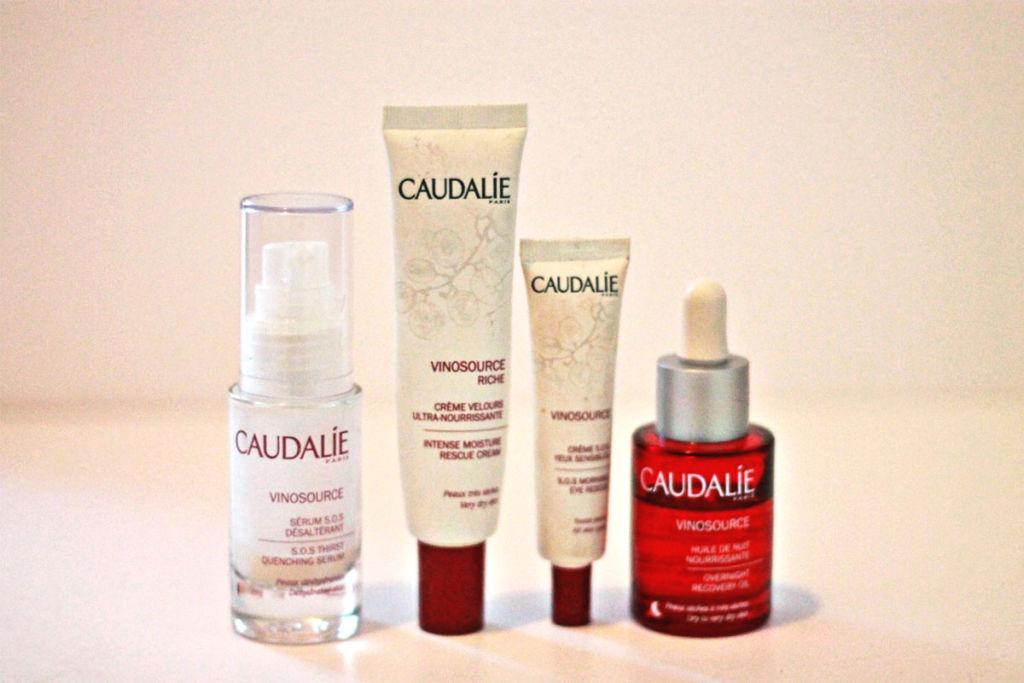 New skin routine: Caudalie Vinosource