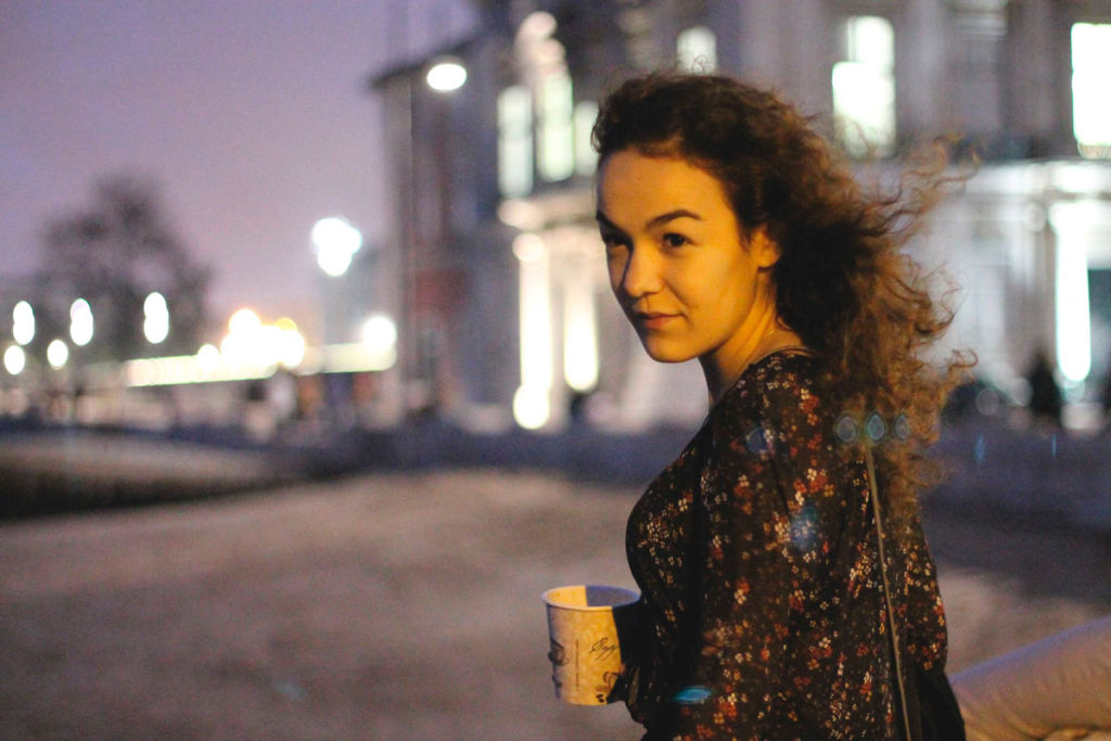 Photoshoot: nightfall and coffee shops in Lisbon (with Raquel)