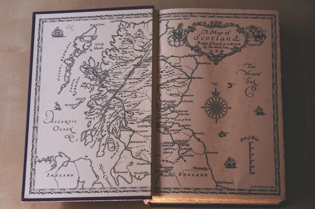 old-book-about-scotland