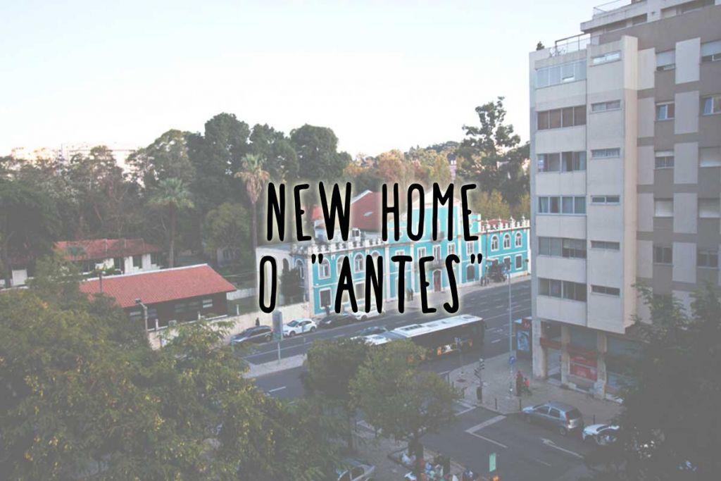 Uma visita à casa nova (o antes)