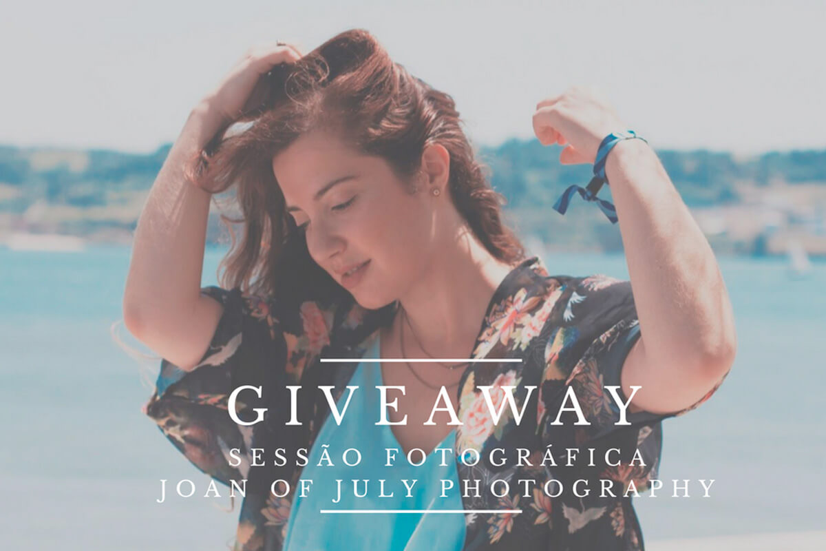 Giveaway: sessão fotográfica Joan of July Photography (3 vencedores)!