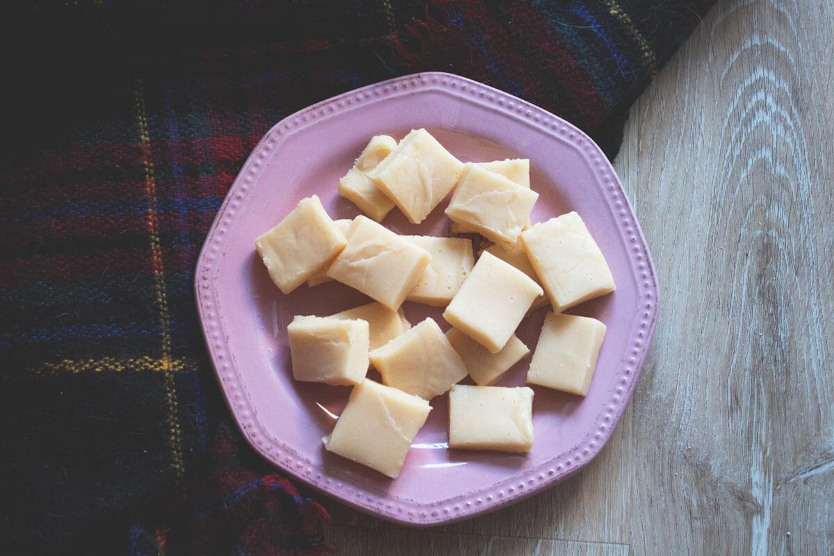 O verdadeiro 'fudge' escocês