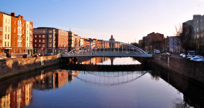 the-bridge-across-the-river-in-dublin