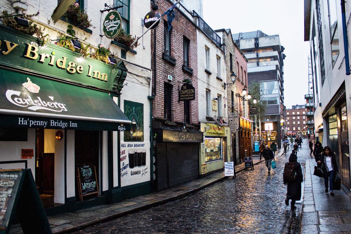 Dublin em menos de 48 horas