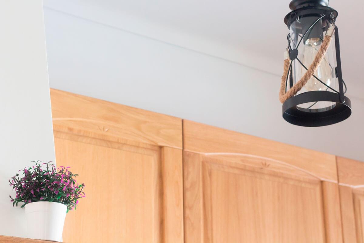 Detalhes da casa nova: cozinha, sala e varandas