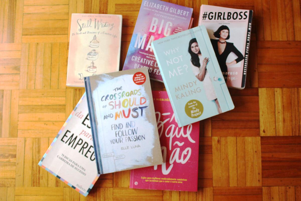 7 livros que me inspiraram a escrever o meu primeiro livro