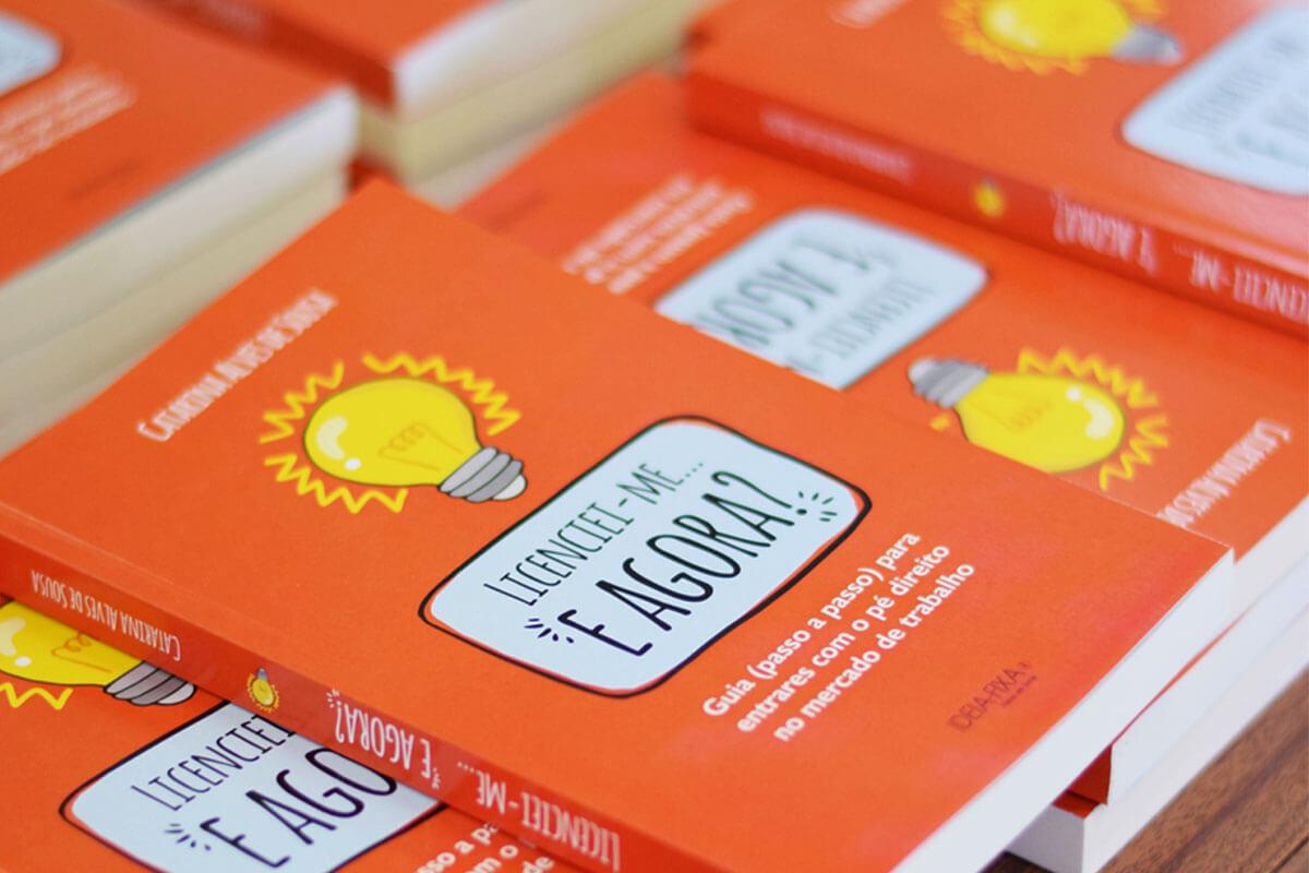 """Giveaway do livro """"Licenciei-me… e agora?"""" (2 vencedores)"""