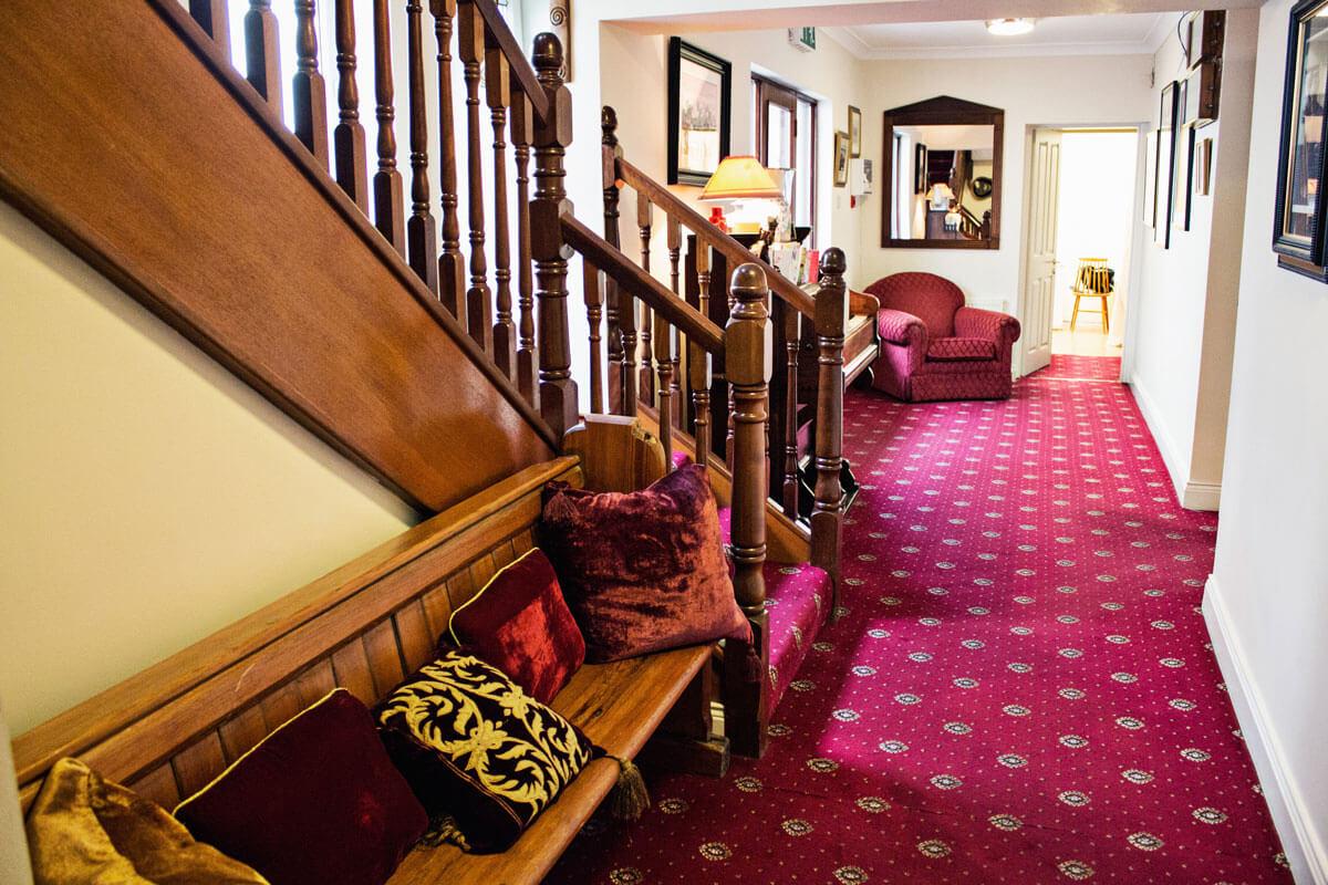 Abbey Lodge, uma casa irlandesa, com certeza