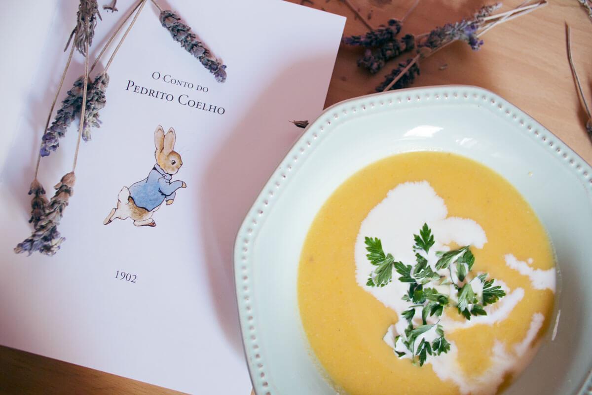 Páginas Salteadas: uma sopa de cenoura típica da Escócia para dias (mais) frios