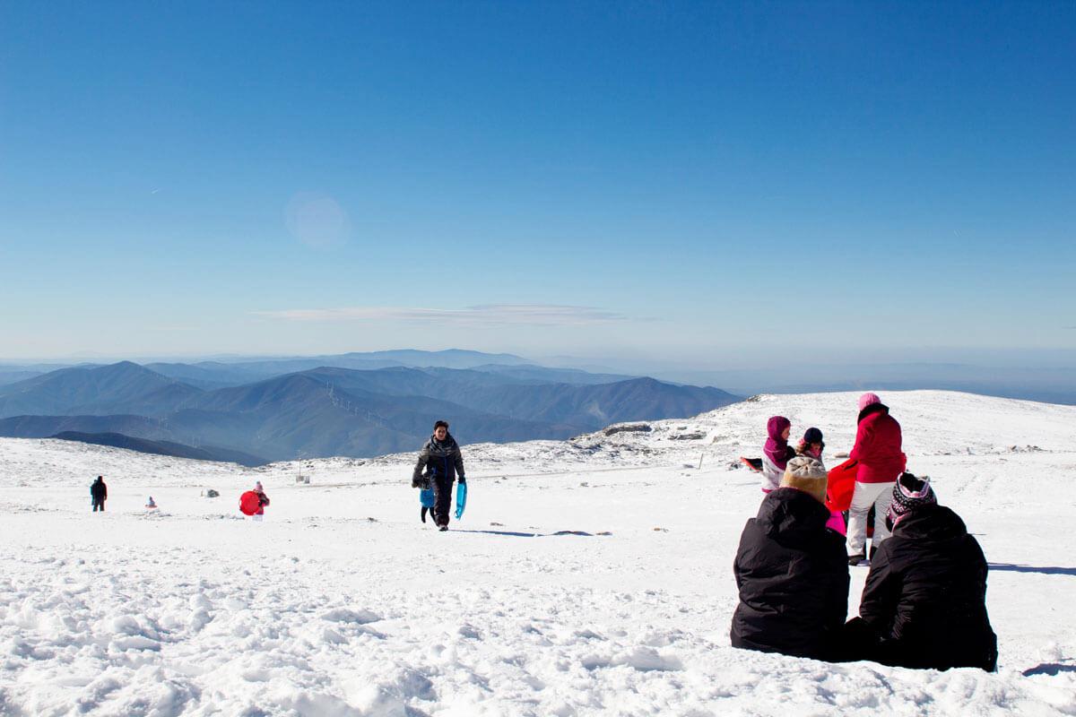 Serra da Estrela, glaciares e o Covão d'Ametade