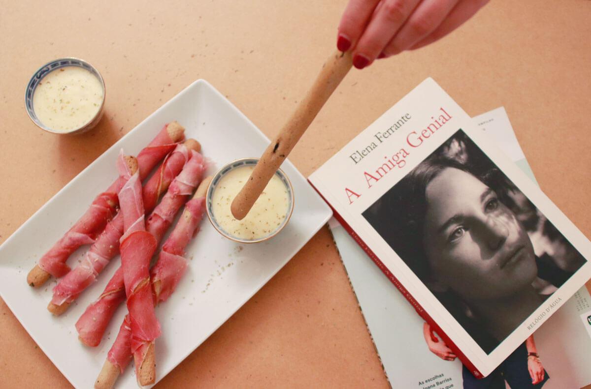 Páginas Salteadas: o início de um jantar num típico bairro de Nápoles