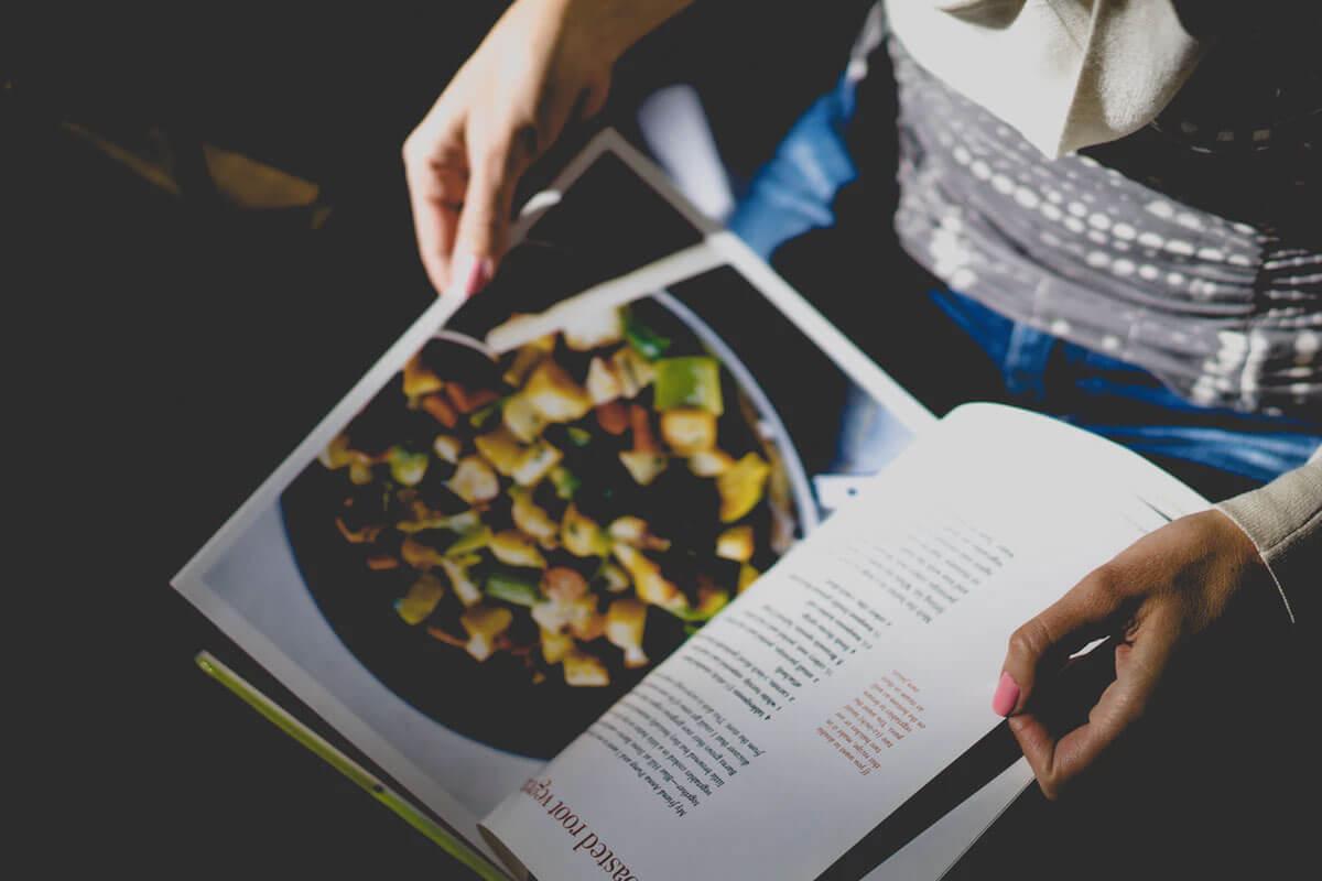 E se o Páginas Salteadas fosse um livro de receitas?