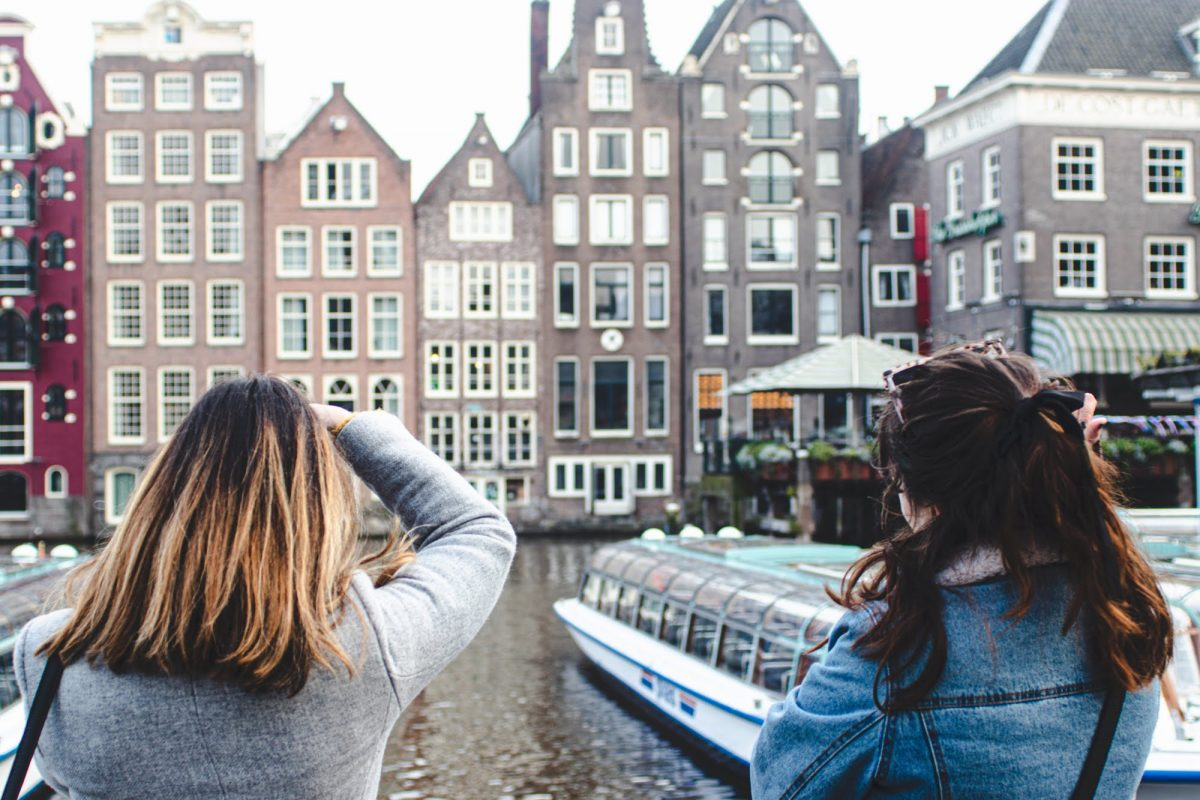Viajar com amigas pela primeira vez